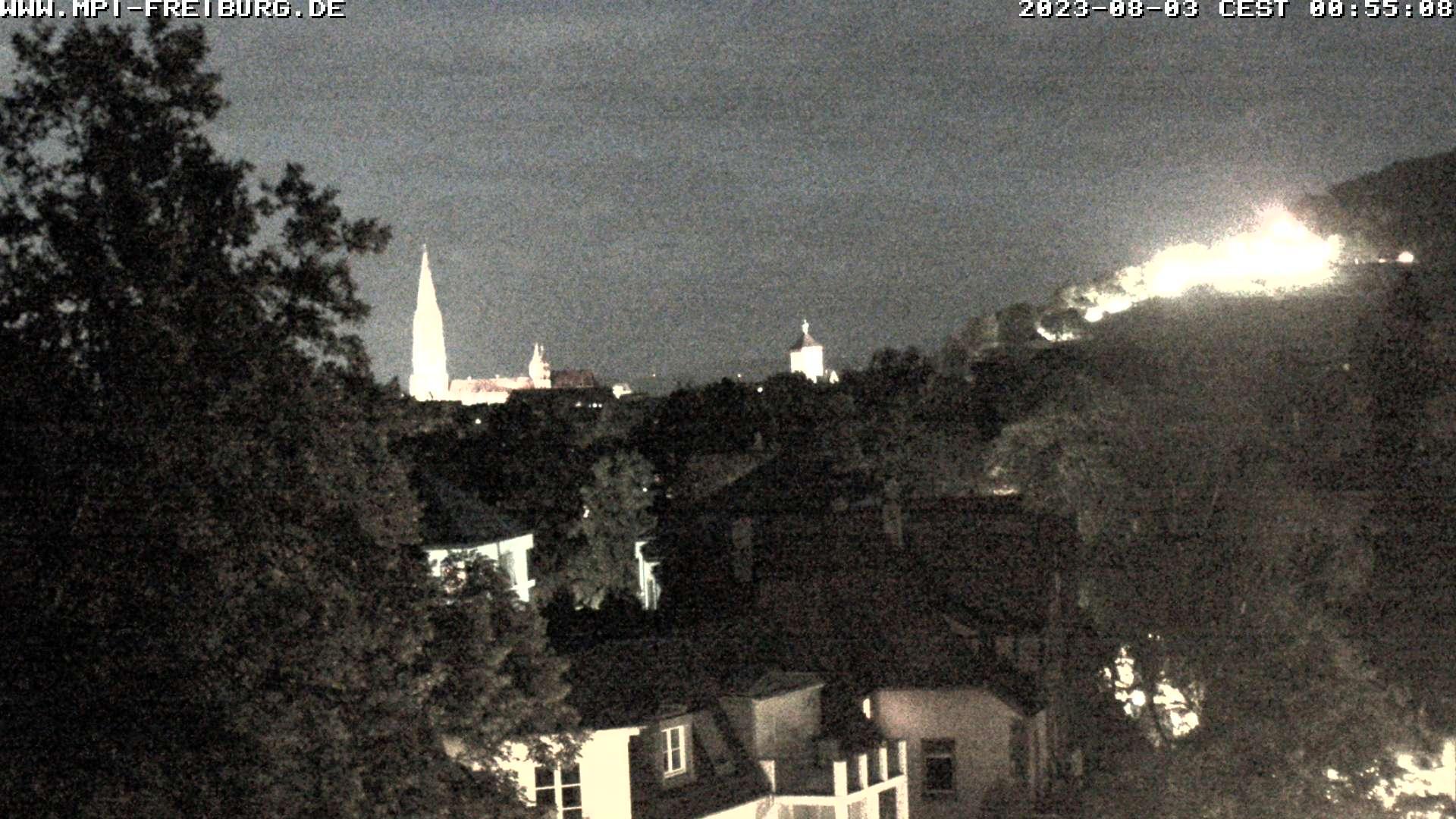 Freiburg im Breisgau Skyline Panorama 2 (Zoom)